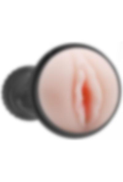 Lilitu Shop Fener Tipi 7 Titreşimli Kumandalı Realistik Suni Vajina Erkek Mastürbatör