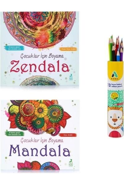 Yetişkinler Için Mandala Boyama Seti