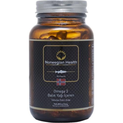 Norwegian Health Omega-3 60 Kapsül 1000 mg