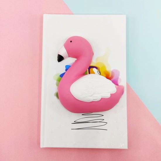 Squishy Defter A5 Flamingo