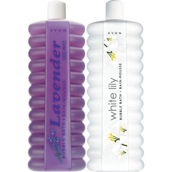 Avon Lavanta Zambak Kokulu Banyo Köpüğü Paketi