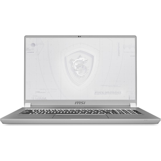 "MSI WS75 10TM-807TR Intel Core i9 10980HK 32GB 1TB SSD Quadro RTX 5000 Windows 10 Pro 17.3"" UHD Taşınabilir Bilgisayar"
