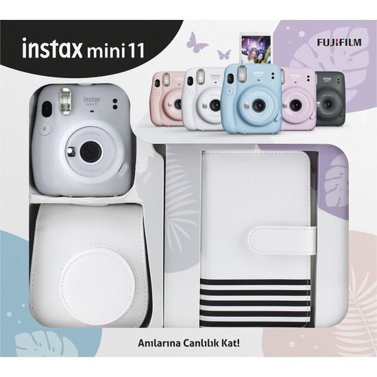 Fujifilm Instax Mini 11 Laporta Albümlü Beyaz Kit