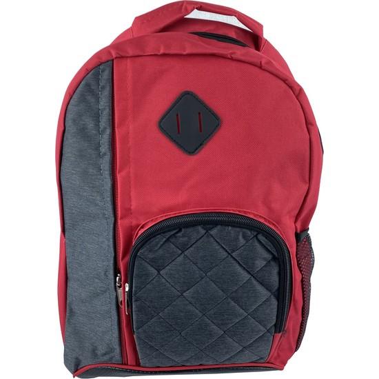 Kırmızı Ortaokul Sırt Çantası 87356