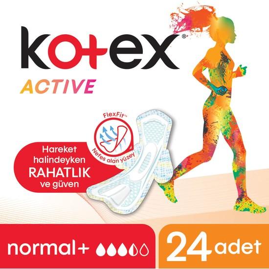 Kotex Active Normal Ped 24'lü