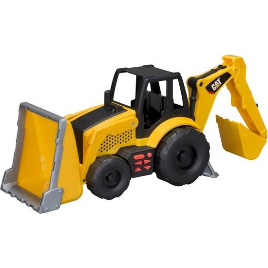Toy State Cat Sesli Full Fonksiyonlu Backhoe İş Makinası 35645 - 35640