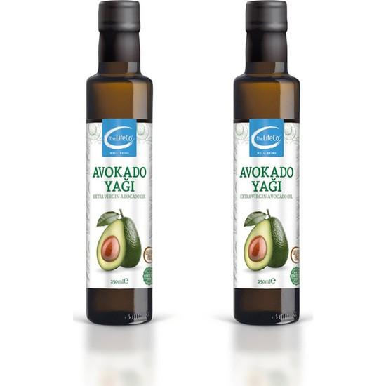 The LifeCo Avokado Yağı 250 ml 2'li Paket