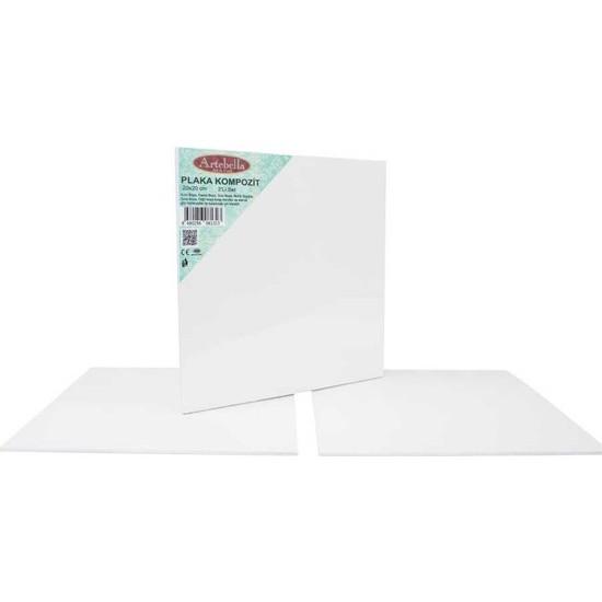 Artebella KPT2S Kompozit Plaka 20 x 20 cm 2'li Set