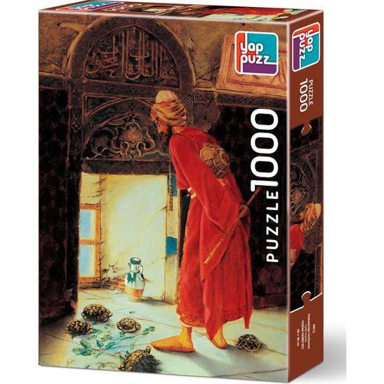 Yappuzz Kaplumbağa Terbiyecisi 1000 Parça Puzzle