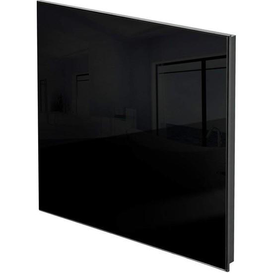 Kuas Isp Glass 450 Siyah Cam Elektrikli Panel Isıtıcı