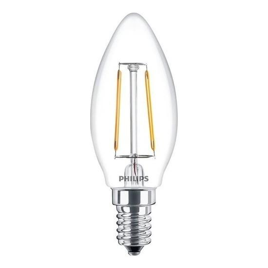 Philpis LED Candle 2 W 25 W E 14 Mum Buji LED Ampul Sarı Işık 10'lu