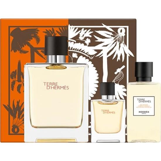 Hermes Terre D Hermes Edt 100 ml Erkek Parfüm Seti