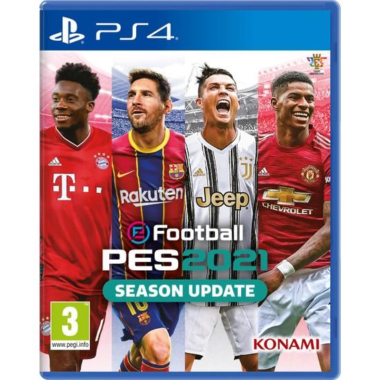 Pes 2021 Season Update PS4 Oyun
