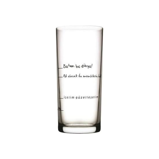 Paşabahçe Içelim Güzelleşelim 6'lı Rakı Bardağı 200 cc