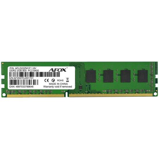 Afox 2GB 800MHz DDR2 Ram AFLD22ZM1P