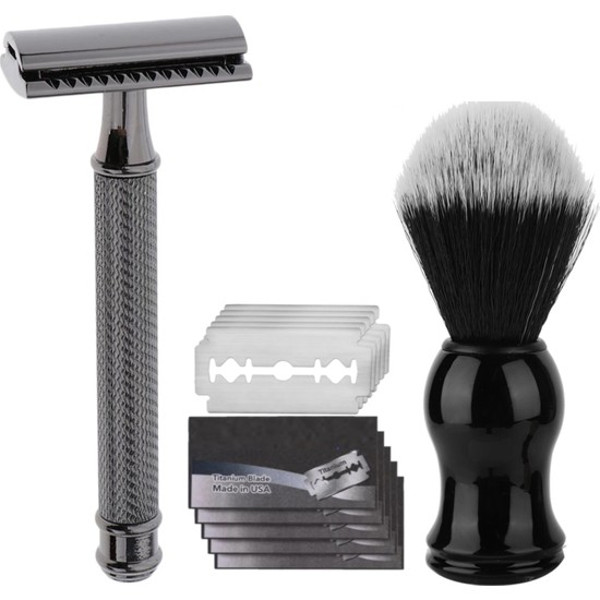 Qualis Shave S3 Tıraş Makinesi + Fırça + 5 Adet Jilet