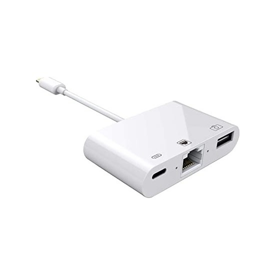 Mobitell Apple iPhone/iPad Lightning To Ethernet RJ45 Dönüştürücü Adaptörü