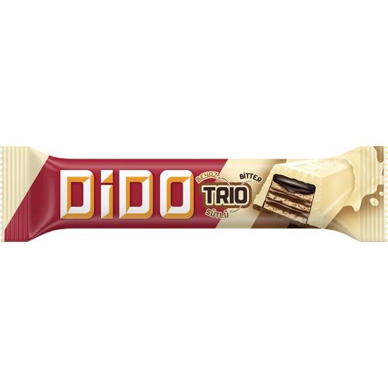 Ülker Dido Trio Beyaz Çikolatalı Gofret 36,5 gr