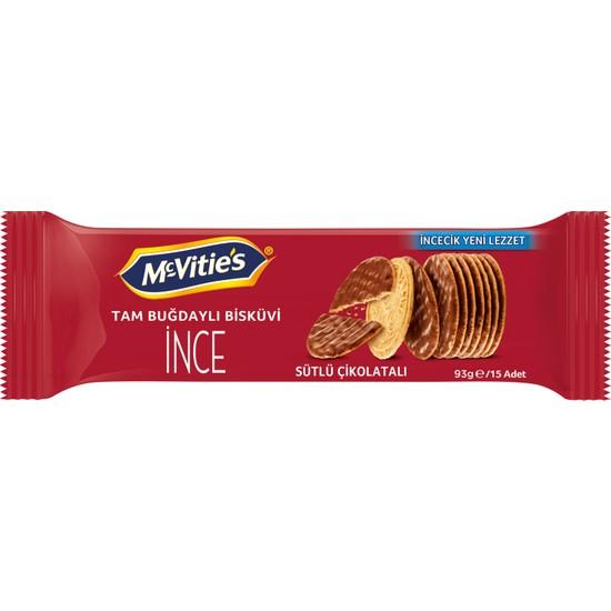 McVitie's Digestive Thins Sütlü Çikolatalı Bisküvi 93 gr