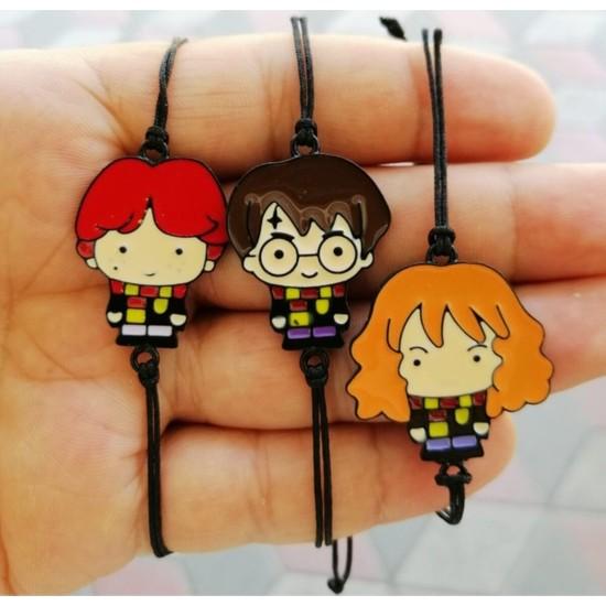 Ema Harry Potter Bileklik 3 Lü Set Hediyelik Aksesuar Şık Eşya