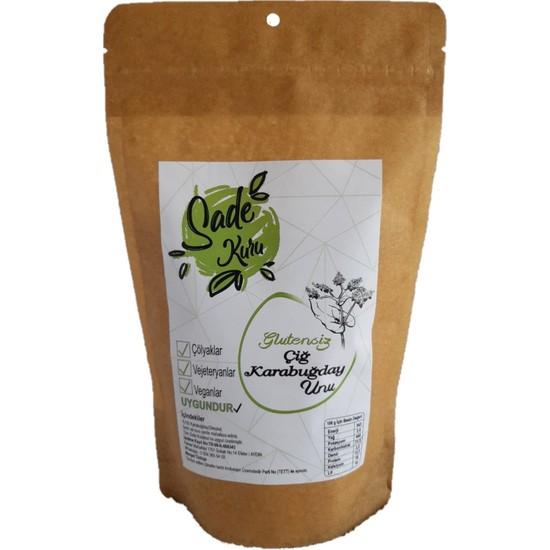 Sade Kuru Çiğ Karabuğday Greçka Unu 1 kg