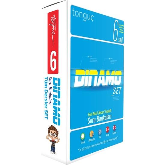 Tonguç Akademi 6. Sınıf Dinamo Tüm Dersler Soru Bankası Set