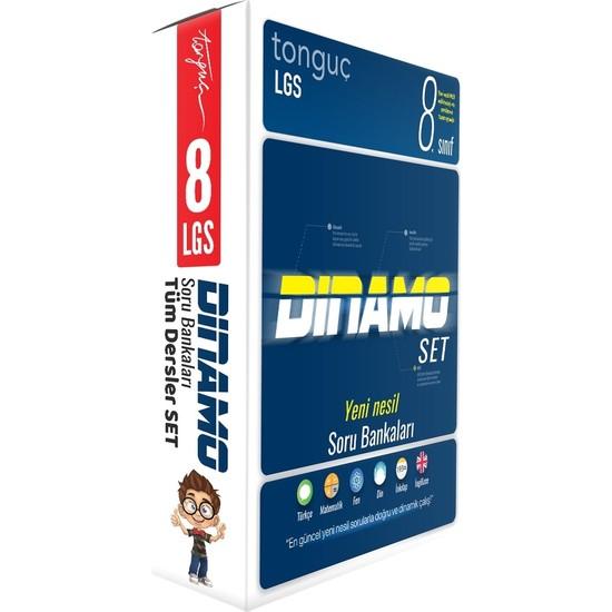 Tonguç Akademi 8. Sınıf LGS Tüm Dersler Dinamo Soru Bankası Seti