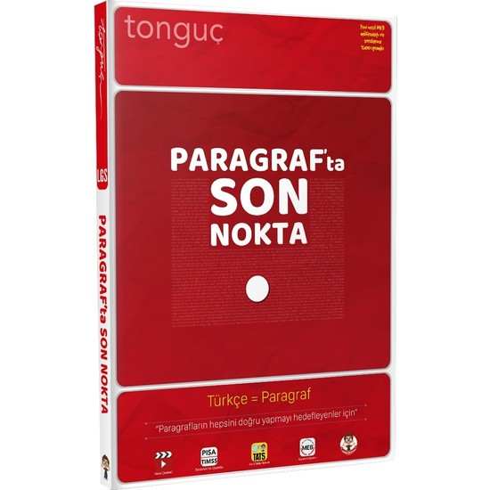 Tonguç Akademi Paragrafta Son Nokta
