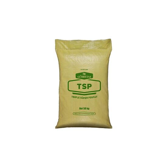 Gübretaş Tsp Triple Fosfor Süper Fosfat Tüm Bitkilerde Katı Taban Gübresi 50 kg