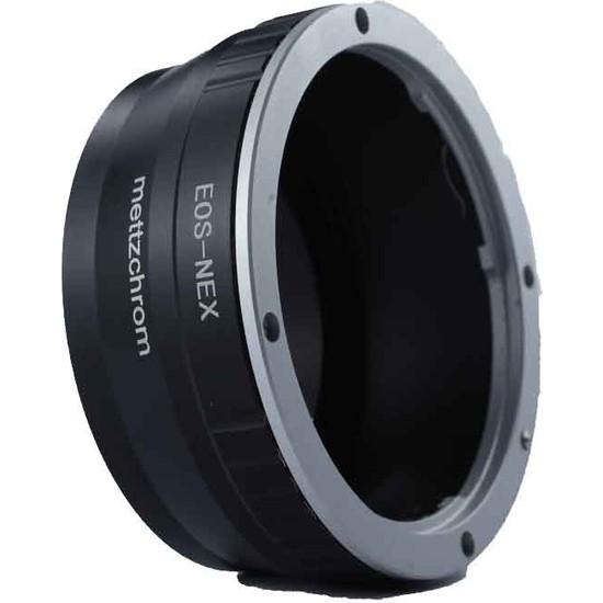 Mettzchrom Eos-Nex Lens Adaptörü