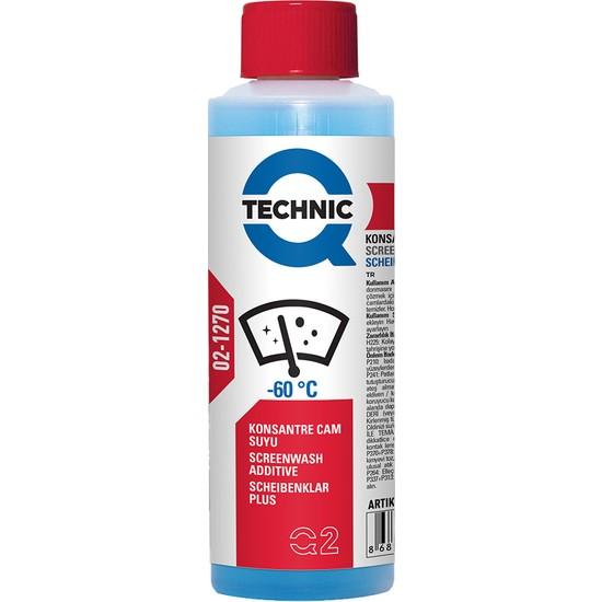 Q-Technic Konsantre Cam Suyu -60°C 250ml