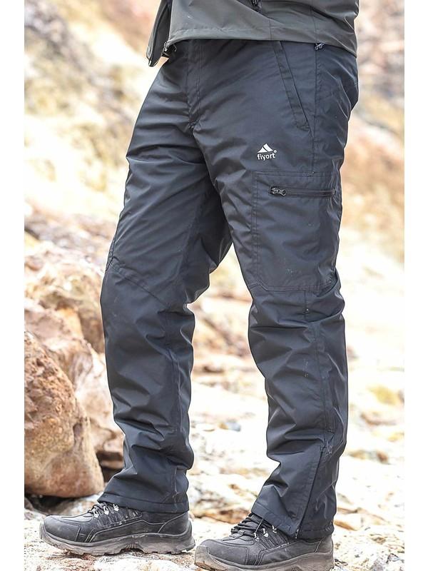 Fiyort Kodiak Siyah Su Geçirmez Pantolon