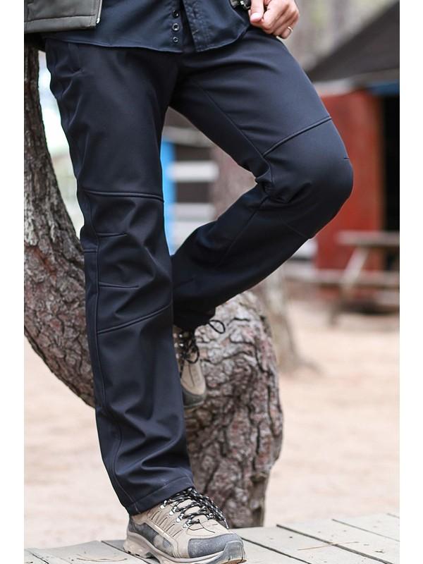 Fiyort Seword Siyah Softshell Pantolon