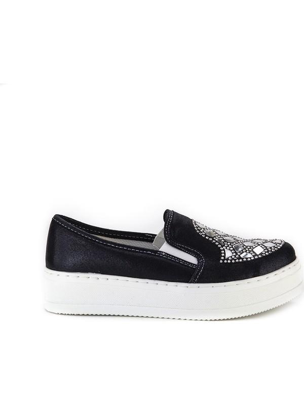 Minipicco Kız Çocuk Siyah Ayakkabı