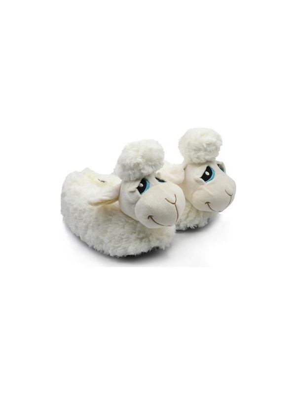 Twigy TT0853 Kuzu Beyaz Kışlık Çocuk Panduf