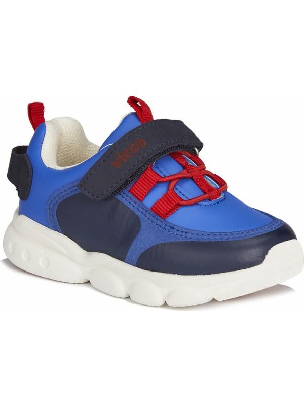 Vicco Dabi Erkek Bebe Saks Mavi Spor Ayakkabı