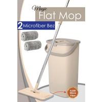 Meleni Home Magic Flat Tablet Mop 2 Bezli Set Yeni Nesil Temizlik Seti