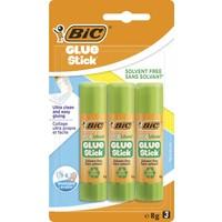 Bic Eco Glue Stick Yapıştırıcı 8 gr Blister 3'lü