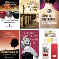 Gülseren Budayıcıoğlu Seti (5 Kitap+Ayraç+Defter)