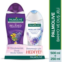 Palmolive Aroma Sensations So Relaxed Aromatik Duş Jeli 500 ml + Micellar Keten Tohumu 250 ml