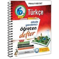 Çanta Yayınları 6. Sınıf Türkçe Öğreten Defter