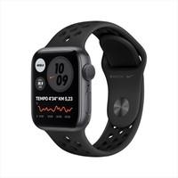 Apple Watch Nike Seri 6 40mm GPS Space Gray Alüminyum Kasa ve Anthracite/Siyah Nike Spor Kordon M00X3TU/A