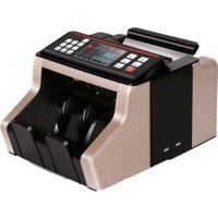 HunterTec Karışık Para Sayma Makinesi Sahte Para Tespit Genel Acıklamalı Konuşan Makina Siyah