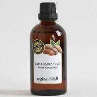 Anjelika Tatlı Badem Yağı - %100 Saf - 100 ml
