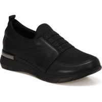 Travel Soft TRV1730 Siyah Kadın Comfort Ayakkabı