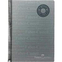 Faber-Castell TYaprako Spiralli Defter 120 Yaprak A4 Kareli