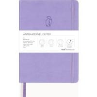 Matt Notebook A5 Antibakteriyel Defter Noktalı Lila