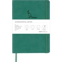 Matt Notebook A5 Antibakteriyel Defter Noktalı Yeşil