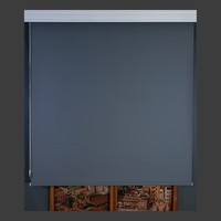 Aniper Gri Ithal Mat Polyester Stor Perde 70x200 cm