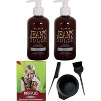 Acacia Jeans Color Saç Boyası Gün Batımı 250ml 2AD, Saç Açıcı ve Boya Kabı Seti